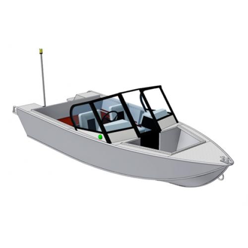 все про моторные лодки салют 430