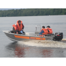 Лодка Wellboat 46K