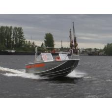 Катер Wellboat 63