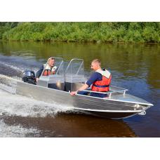 Катер алюминиевый Wyatboat-390М (DC)
