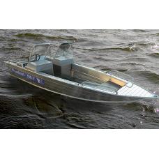 Катер алюминиевый Wyatboat-390У (DC)