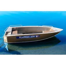Лодка алюминиевая Wyatboat-430