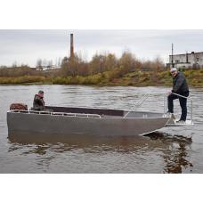 Лодка алюминиевая Wyatboat-600 (пассажирская)