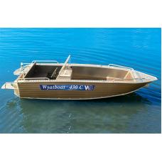 Катер алюминиевый Wyatboat-430C