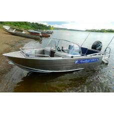 Катер алюминиевый Wyatboat-430DCM