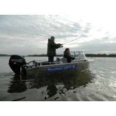 Катер алюминиевый Wyatboat-430M
