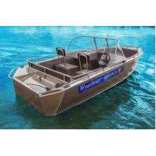 Катер алюминиевый Wyatboat-460DCM