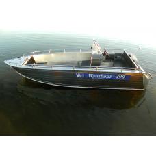 Катер алюминиевый Wyatboat-490C