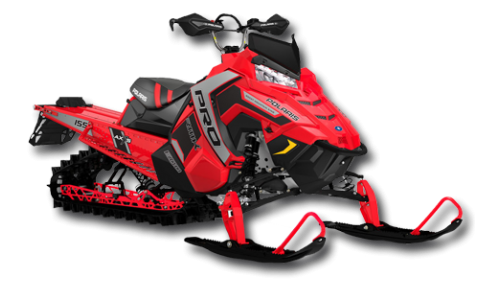 Снегоход POLARIS 600 PRO-RMK 155 (2017)