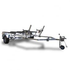 Прицеп ЛАВ-81015A для перевозки двух гидроциклов или лодок до 3,9м